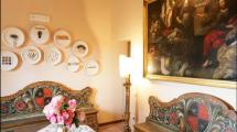 Dettagli Affreschi - Villa Toscana Maremma
