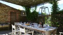 Veranda Casale Toscana