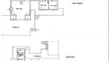 Planimetria Piano Terra e Primo Piano Villa Ansedonia -ROMACASA