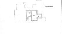 Planimetria piano S1 Villa Ansedonia -ROMACASA